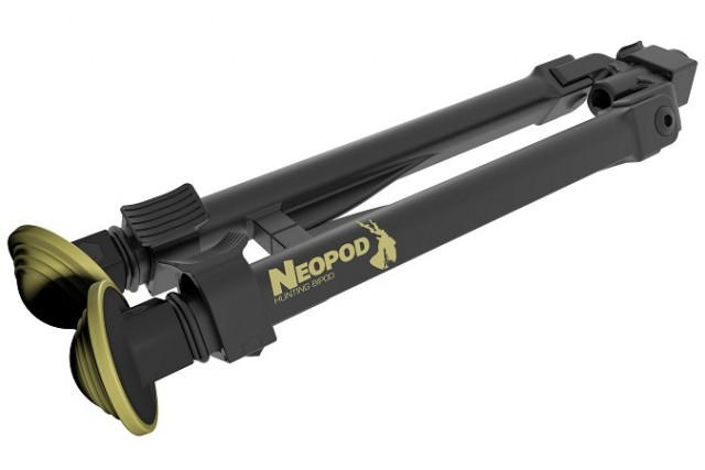 NeoPod ultralight bipod with QD mechanism